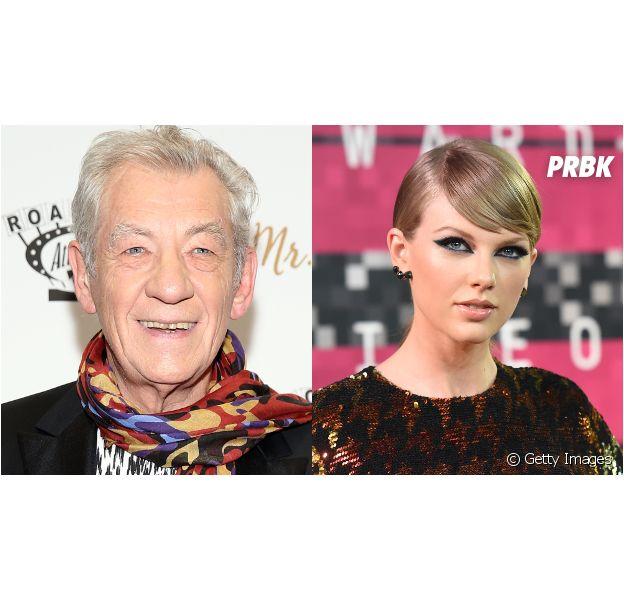 Ian McKellen conta que foi despejado por causa de Taylor Swift