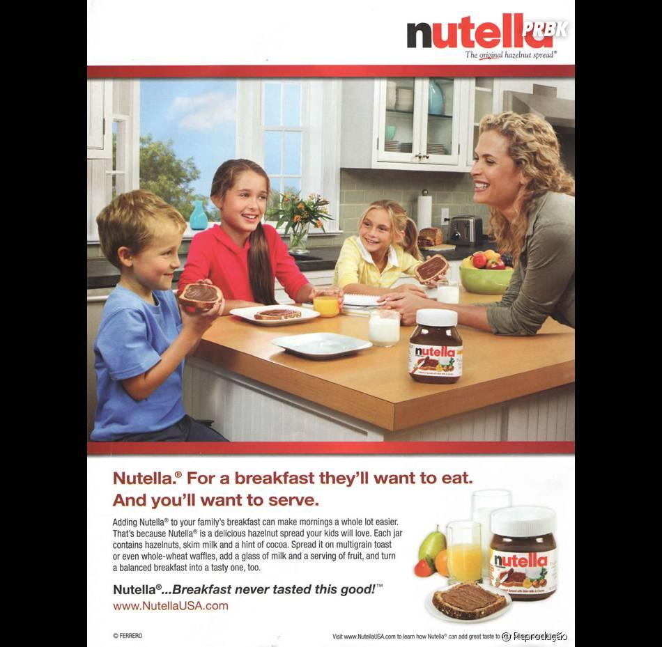 Uma vez a fábrica de Nutella resolveu dizer que o produto era saudável. Isso rendeu uma multa de US$ 3 milhões!