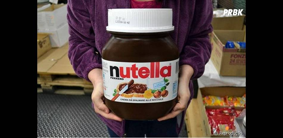O pote de 5kg de Nutella não é mito, ele existe mesmo!