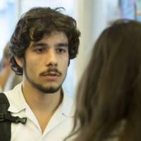"""Te contei? Em """"Malhação"""", Luan (Vitor Novello) é o responsável pelo acidente de Ciça (Julia Konrad)!"""