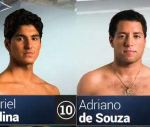 Gabriel Medina, Mineirinho, Filipe Toledo e Wiggoly Dantas nas quartas de final de Trestles