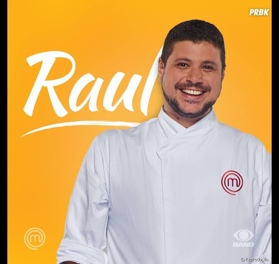 """E aí, sua torcida é para vencer o """"MasterChef Brasil"""" é para o Raul?"""