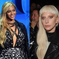"Duelo: Beyoncé ou Lady Gaga? Qual melhor clipe: ""Runnin (Lose it All)"" ou ""Til It Happens To You""?"