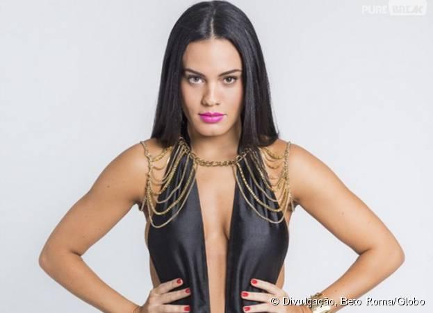 """Letícia Lima interpreta a Alisson, em """"A Regra do Jogo"""""""