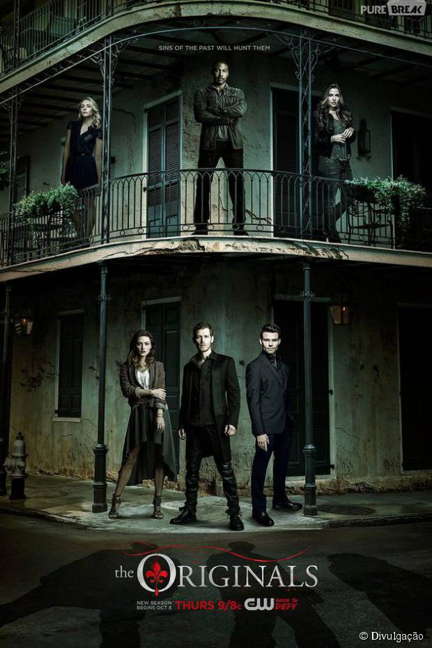 "Em ""The Originals"": na 3ª temporada, novo pôster mostra personagens principais!"