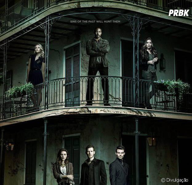 """Em """"The Originals"""": na 3ª temporada, novo pôster mostra personagens principais!"""