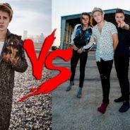 Justin Bieber provoca One Direction com brincadeira no Snapchat sobre lançamentos de novos álbuns