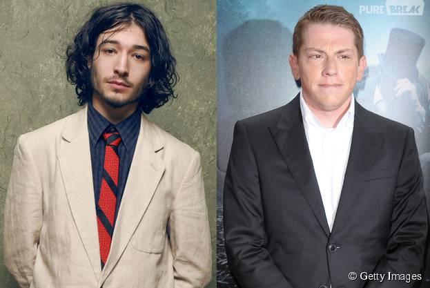 """Ezra Miller e Seth Grahame-Smith, de """"The Flash"""""""
