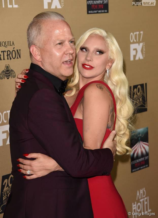 """Lady Gaga é amada por Ryan Murphy, criador de """"American Horror Story: Hotel"""" e """"Scream Queens""""!"""