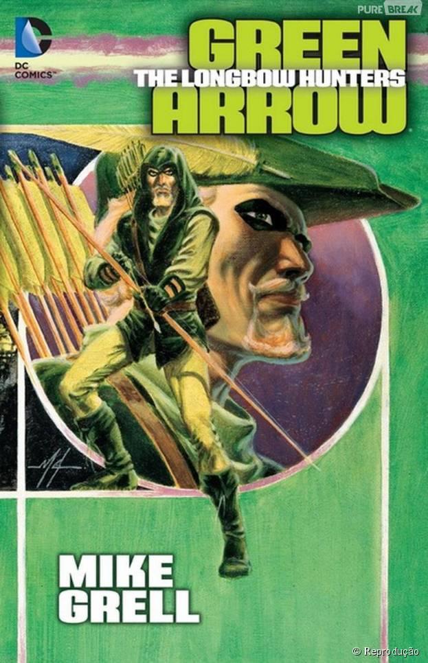 """Ver """"Arrow"""" com o arco de """"Os Caçadores"""", do Arqueiro Verde, seria interessante por mostrar um lado mais sombrio de Oliver Queen"""