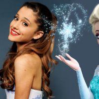 """Ariana Grande e Elsa, de """"Frozen"""", são a mesma pessoa? Descubra 7 pistas que provam essa teoria!"""