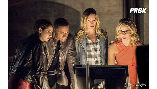 """Em """"Arrow"""": equipe se reúne para tentar acabar com os planos de Darhk(Neal McDonough)"""