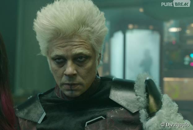 """Zoe Saldana confirma retorno de Benicio Del Toro à sequência """"Guardiões da Galáxia 2"""""""