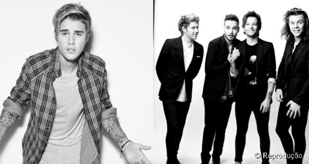One Direction comenta disputa com Justin Bieber pelos holofotes na indústria musical com lançamentos de novos álbuns no mesmo dia