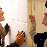 """Justin Bieber e Ariana Grande divulgam parceria em """"What Do You Mean?"""" com vídeo de zoeira!"""