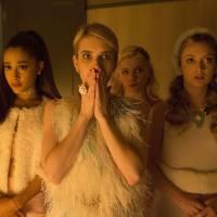 """Emma Roberts, de """"Scream Queens"""", desconhece identidade do Red Devil: """"Não sabemos quem é"""""""