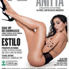 Anitta posa provocante com o título de Mulher Mais Sexy do Mundo pela Vip. Confira o ensaio sensual!