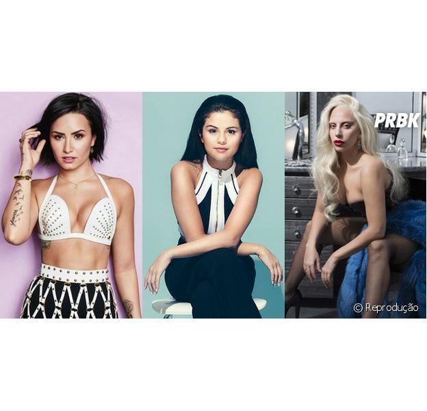 Demi Lovato, Selena Gomez e Lady Gaga estão confirmadas no Woman In Music, evento da Billboard que irá homenagear mulheres da indústria musical