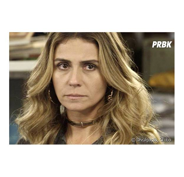 """Em """"A Regra do Jogo"""": Atena (Giovanna Antonelli) consegue expulsar Tóia (Vanessa Giácomo) do apartamento de Romero (Alexandre Nero)!"""