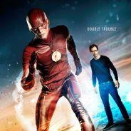 """Em """"The Flash"""": na 2ª temporada, novo pôster revela problema em dobro para Barry (Grant Gustin)!"""