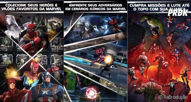 """Jogo """"Marvel: Torneio de Campeões"""" está disponível para Android e iOS"""