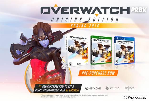 """Skin de Widowmaker que virá como bônus de pré-compra em """"Overwatch"""""""
