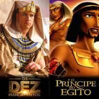 """Novela """"Os Dez Mandamentos"""" ou """"O Príncipe do Egito""""? Qual é sua produção bíblica favorita?"""