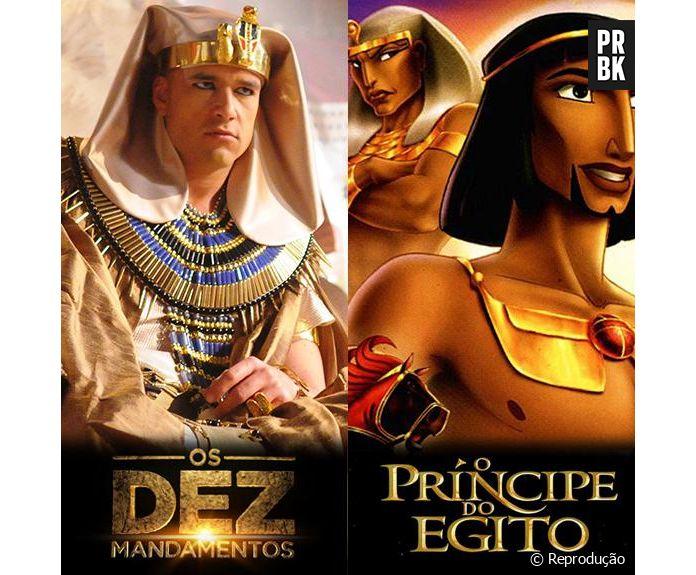 Novela Os Dez Mandamentos Ou O Principe Do Egito Qual E Sua