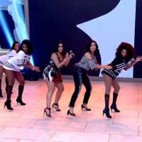 """Anitta dança """"Bang"""" com Fátima Bernardes e fãs surtam com a dupla nas redes sociais!"""