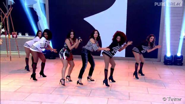 """Anitta e Fátima Bernardes dançaram muito a música """"Bang""""!"""
