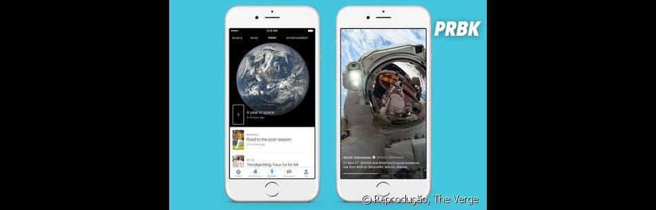 Usuários do Twitter agora poderão acessar assuntos através de temas específicos, em formato de história