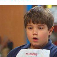 """No """"MasterChef Júnior"""": Matheus e Daphne são eliminados e memes quebram o clima de tristeza!"""