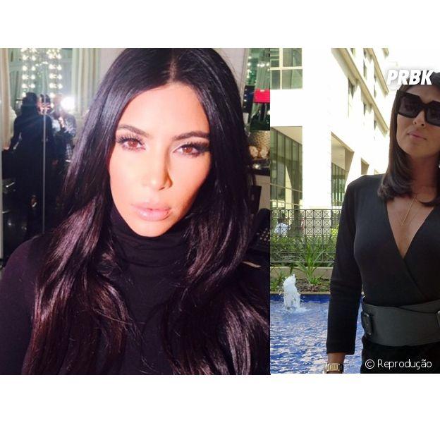 """De """"Totalmente Demais"""": Carolina (Juliana Paes) e Kim Kardashian são a mesma pessoa? Confira motivos!"""