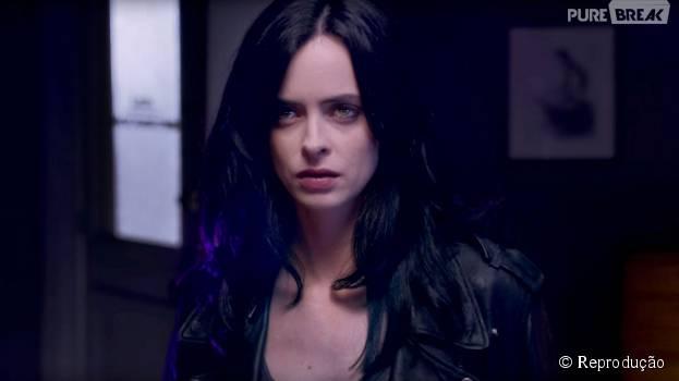 Krysten Ritter é Jessica Jones, a protagonista da série homônima da Marvel com a Netflix!