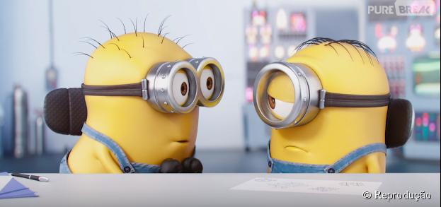 Os Minions ganharam um novo curta-metragem em sua versão em home video!