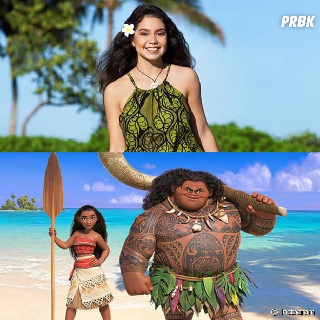 Auli'i Cravalho está confirmada como a princesa Moana, da Disney