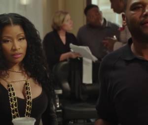 "Nicki Minaj aparece em trailer de ""Barbershop 3"""