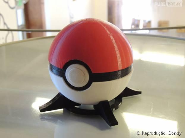 """Os treinadores que jogam """"Pokémon"""" já podem ter sua própria pokébola"""