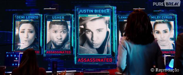 """Trailer do filme """"Zoolander 2"""" mostra aparições de Justin Bieber, Demi Lovato, Miley Cyrus e mais famosos"""