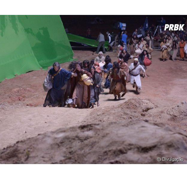 """De """"Maze Runner"""" a """"Once Upon a Time"""", veja fotos que acabam com a magia dos efeitos especiais!"""