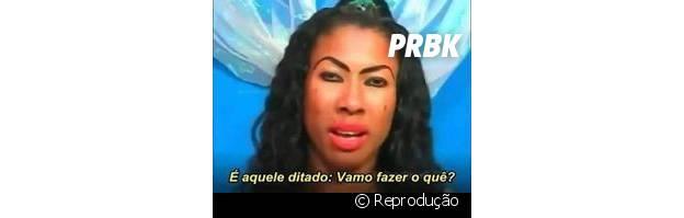 Inês Brasil reagindo às notícias do dia a dia