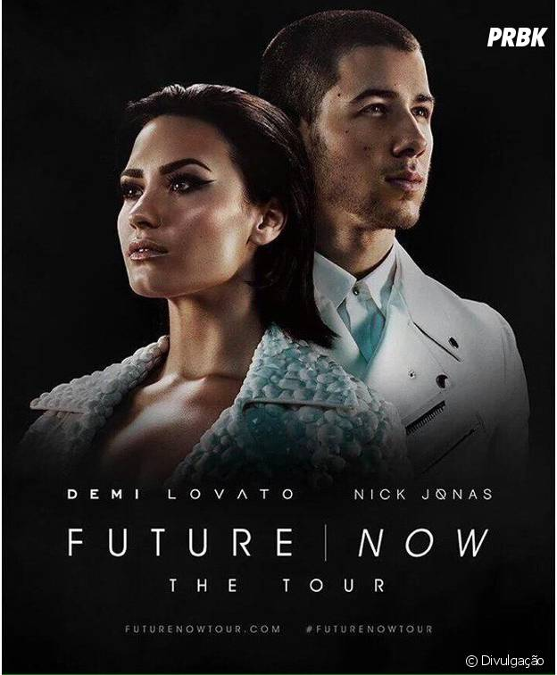 "Demi Lovato e Nick Jonas na ""Future Now Tour"""
