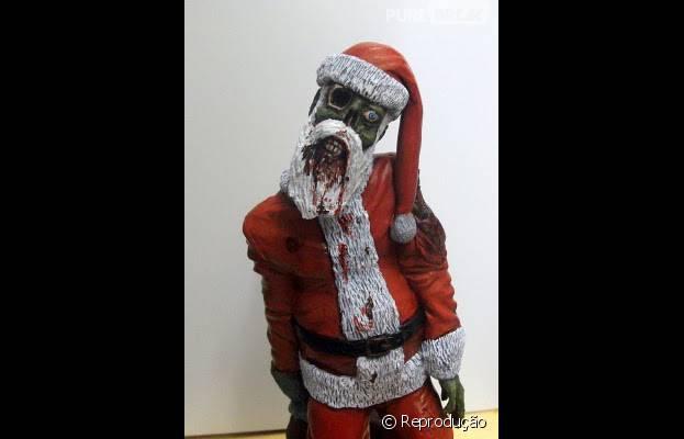 """Que tal essa decoração de Natal meio """"The Walking Dead""""?"""