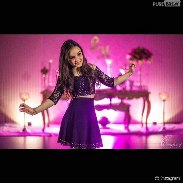 Larissa Manoela curte balada pré-festa de 15 anos com muita animação