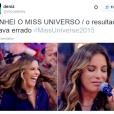 Ivete Sangalo sabe na pele o que é ser Miss Colômbia noMiss Universo 2015?