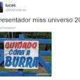 O apresentador do Miss Universo 2015 conquistou a raiva da galera
