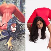 Heroínas dos HQs são irreais: mulheres recriam poses das capas e mostram o resultado