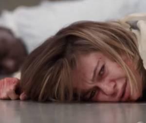"""Em """"Grey's Anatomy"""", na 12ª temporada, Meredith (Ellen Pompeo) aparece ensanguentada!"""