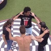 """Do """"BBB16"""": Daniel, Ronan, Tamiel e Alan ganham Prova do Líder depois de 13 horas!"""