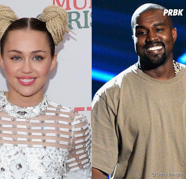 """Miley Cyrus e Kanye West lançam remix de """"Black Skinhead"""""""
